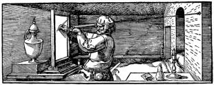 Dürer Albrecht, Zeichner der Kanne, um 1520