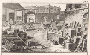 Diderot/d'Alembert: Encyclopédie, um 1772