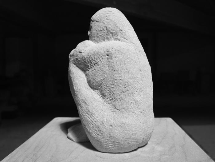 Figur aus Savonnières Kalkstein, Martin Bruhin, 2010